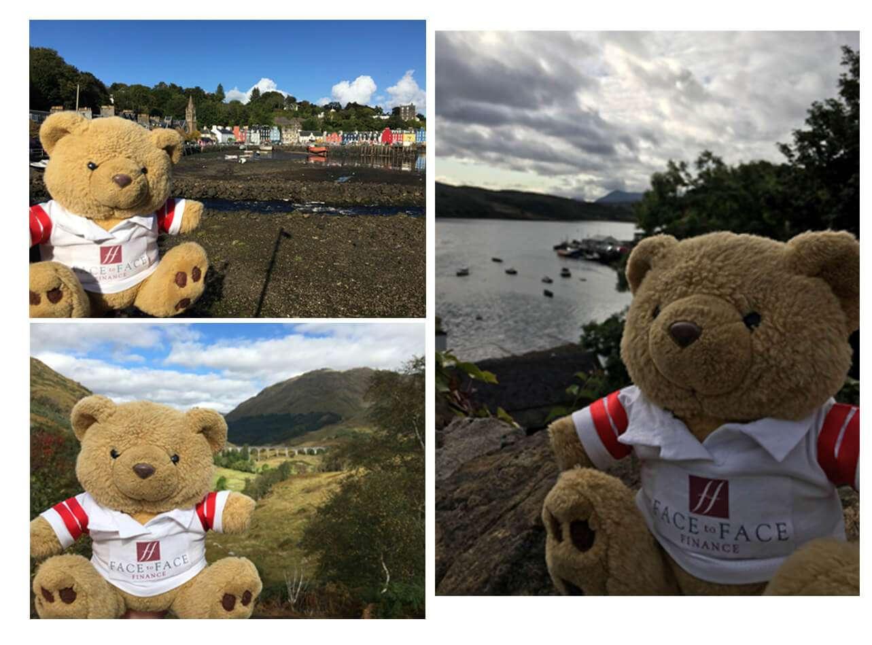 Eddie in Scotland
