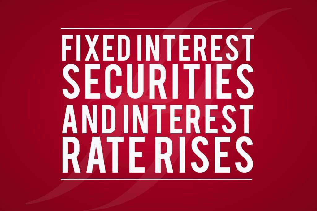 Fixed interest securities
