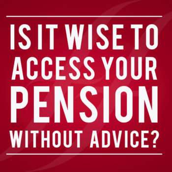 accessing your pension without advice