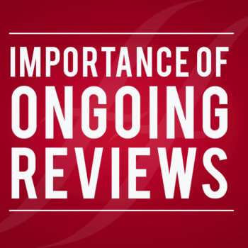 Importance of ongoing reviews of your finances