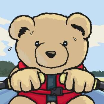 Eddie Teddie learns to row