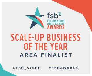 FSB Awards Scale Up Business of the Year Area Finalist