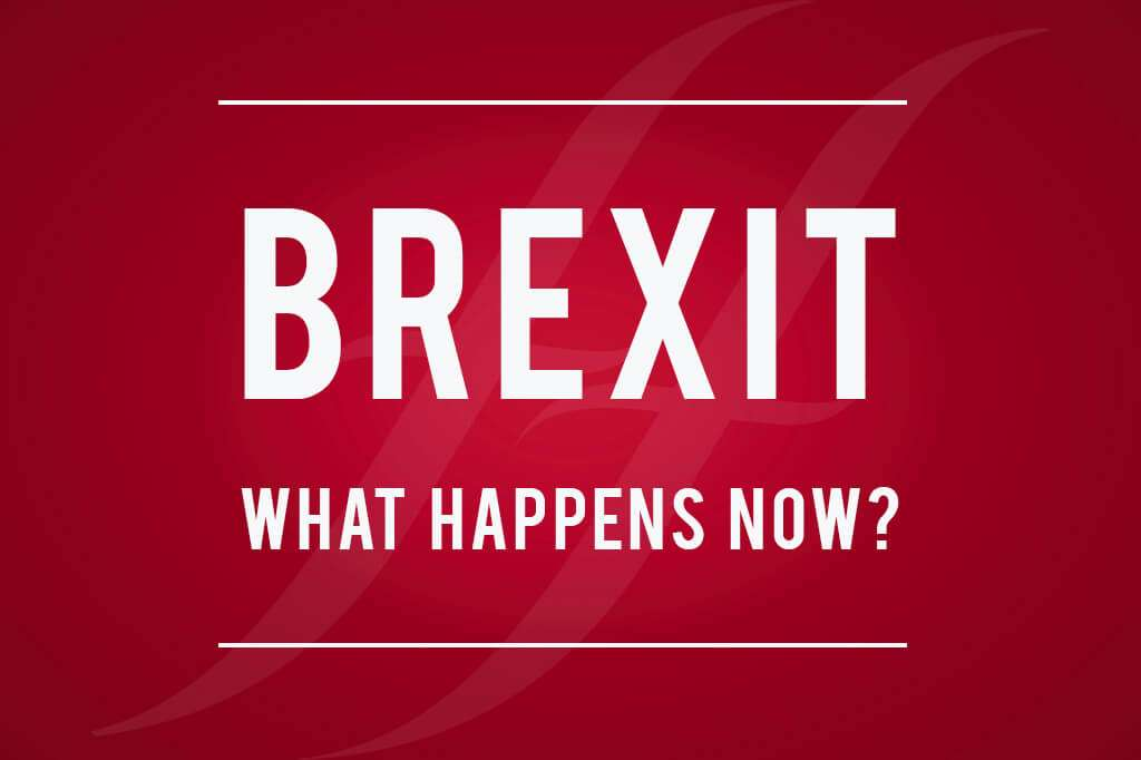 Brexit - What happens now?