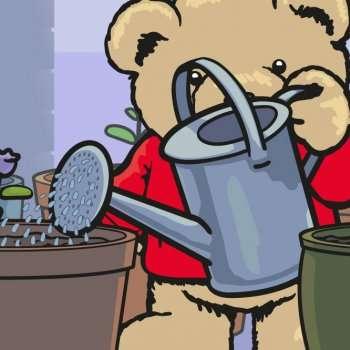 Eddie Teddie's flowerpots