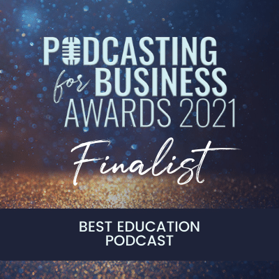 Podcast for business awards finalist 2021