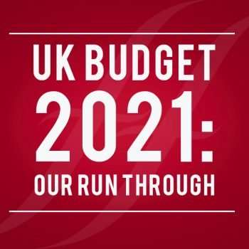 image reads 'uk budget 2021: our run-through'