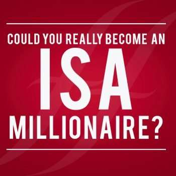 "image reads ""Could you really become an ISA millionaire?"""