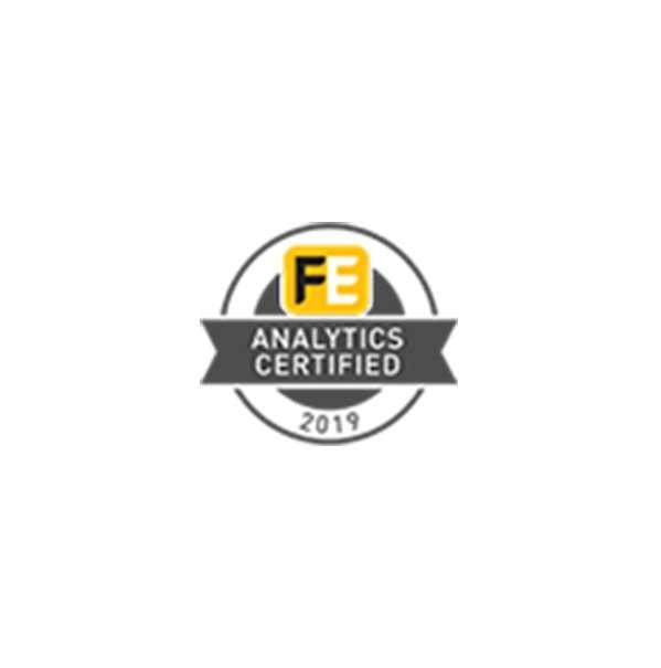 FE Analytics certified Accreditation