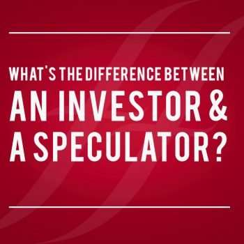 """image reads """"what's the difference between an investor and a speculator?"""""""