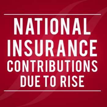 """image reads """"national insurance contributions due to rise"""""""